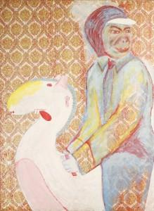 JohnWayneReitetWieder_200x150cm_1976