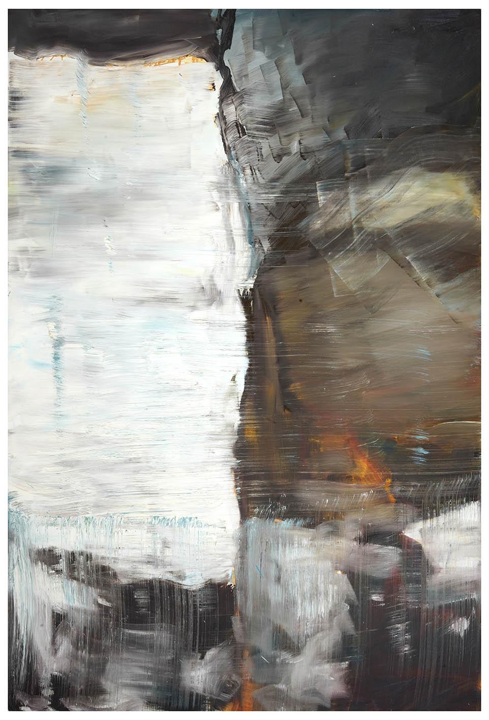 Herbert Brandl o.T., 2001, Öl auf Leinwand 180 x 120 cm Provenienz: Sammlung Ploner